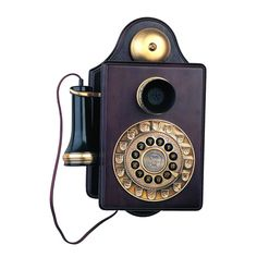 Paramount Antique 1903 Reproduction Wall Phone (Brown) #Antique Wall