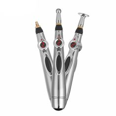 Our revolutionary pen provides a painless, acupuncture-type stimulation using an electric pulse to relieve stress, promote healthy blood circulation, and to Acupressure Massage, Acupressure Points, Circulation Sanguine, Improve Blood Circulation, Massage Tools, Massage Therapy, Skin Piercing, Point Acupuncture, Boost Immune System