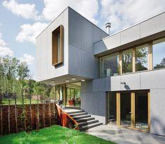 Private villa in Belgium. EQUITONE facade panels. www.equitone.com