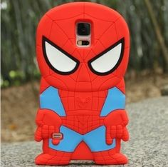 3d samsung galaxy s5 cases, 3d Spider-man Silicon Case Samsung Galaxy S5 Case, It is made of light, soft but strong polymer. It is stain and scratch resistant. It offers great protection of your Phone without adding bulk.