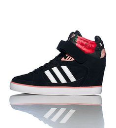 quality design c419f 52cc5 Adidas Amberlight Up Sneaker (Wedges) │Awww. I like the flowers and the