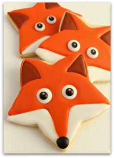What does the fox say? Cookies from Star Cookie cutter