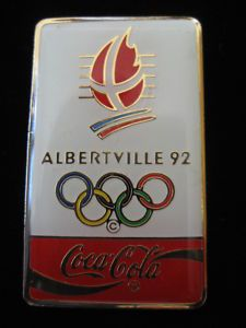 Verzamelingen pins pin's badge  jo albertville 92 sponsor kraft
