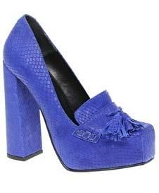 1b2640b1c Asos Starlight platform loafers High Heel Loafers