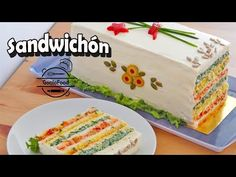 Sandwichón - Receta Súper Fácil - Paso a Paso - YouTube Spanish Cuisine, Easy Casserole Recipes, Appetisers, Food Plating, Finger Foods, Appetizer Recipes, Tapas, Main Dishes, Sandwiches