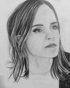Emma Watson, Pencil Drawings, Lazy, Paper, Instagram Posts