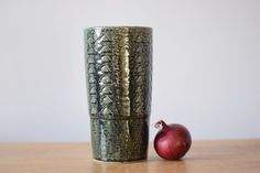 Palshus Denmark vase Danish Studio pottery Denmark Scandinavia midcentury in Pottery & Glass, Pottery & China, Art Pottery | eBay
