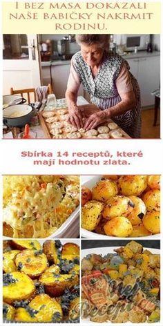 Vegetarian Recipes, Cooking Recipes, Healthy Recipes, Eastern European Recipes, Homemade Pastries, Czech Recipes, No Salt Recipes, Avocado Recipes, Food Humor