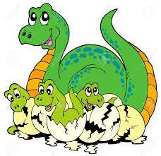 Resultado de imagen de imágenes infantiles dinosaurios en nido
