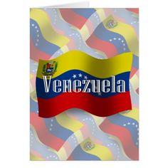 Shop Venezuela Waving Flag created by representshop. Venezuela Flag, Political Events, American Country, National Flag, Custom Greeting Cards, Smudging, Kids Outfits, Portrait, Color