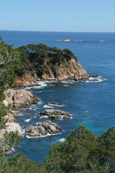 Been here, beautiful place! Castel to Cap Riog Coastal Walk - View. Palafrugell,  Girona  Catalonia.