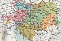 Az Osztrak Magyar Monarchia Nemzetisegi Terkepe Vintage World