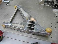 Lower control arm for a trophy truck