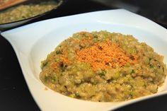 Krémové rizoto s květákem /Creamy risotto with cauliflower/ Zdravé, bezlepkové recepty. (Healthy, gluten free recipes.)
