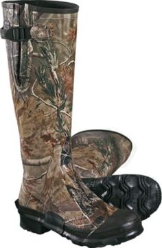 Realtree Camo Scent-Free Uninsulated Rubber Boots   #Realtreegear