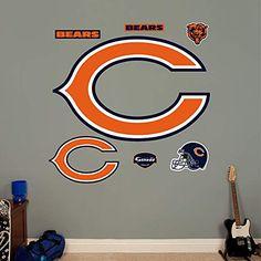 Chicago Bears 12'' x 12'' Mega Decal