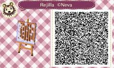 ACNL/ACHHD QR CODE-Snowy Water Grate for Winter