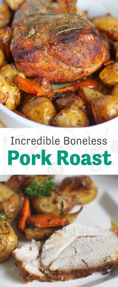 A juicy and flavorful pork roast recipe for any night of the week. Pork Roast Recipes, Meat Recipes, Cooker Recipes, Recipies, Boneless Pork Loin Recipes, Game Recipes, Top Pork Loin Roast Recipe, Instant Pot Recipe For Pork Roast, Dinner Recipes