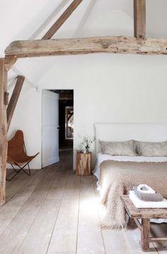 Stylish Light and Airy Minimalist Bedroom