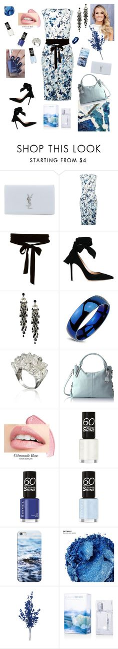 """""""Василек"""" by ima7753191 ❤ liked on Polyvore featuring Yves Saint Laurent, Fenn Wright Manson, Gianvito Rossi, First People First, Jessica Simpson, Casetify and Urban Decay"""