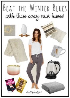 Beat the Winter Blues: Survive the remainder of winter with these cozy must-haves! Decor and lifestyle items for your home, kitchen, body, and more, all at great prices!