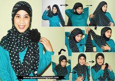 Queenova: hijab tutorial