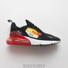 1dadbd4739145f 18ss Season Deadstock Nike Air 270 Flyknit Seat Half Palm Air Jogging Shoes Bred  Air Max270. Air Jordan 11 ...