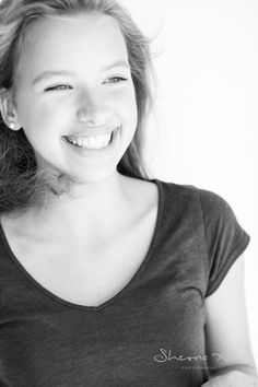 here is nothing more beautiful and endearing than laughter. high contrast portrait black and white portrait photography of beautiful cute girl. All the right ingredients to make ones heart smile. black and white photography   photo   photography   teen   portrait   teenager   joy   laughter   happiness    More at www.sheona-ann-photography.com