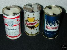 60s beer can collection / or advertisements