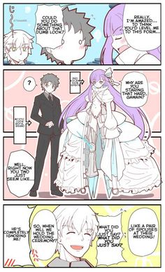 Gudao and Melt - A Marrying Couple?! [TL'd Comic] - Imgur