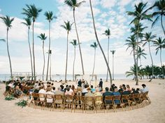 Beach Wedding Ceremony: Curated & Refined Wedding Inspiration - Asia Pimentel Photography