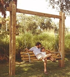 Sturdy Outdoor Swing