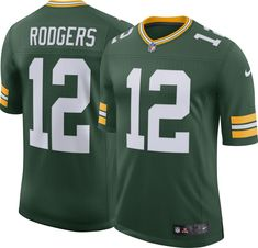 89a8b302a Nike Men s Home Limited Jersey Green Bay Aaron Rodgers  12
