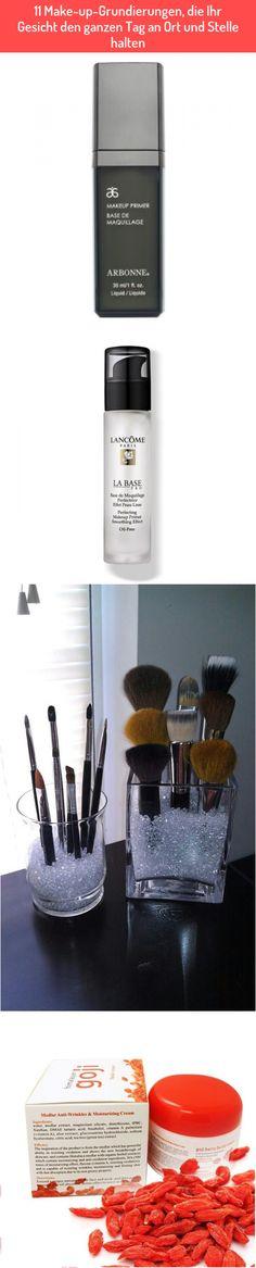 11 Make-up-Grundierungen, die Ihr Gesicht den ganzen Tag an Ort und Stelle halten Best Makeup Primer, Best Makeup Products, Arbonne, Base Coat, Face