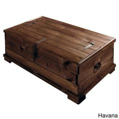 TakhatHardwoodFurnitureToyTrunkChestCoffeeTable100Sheesham