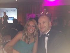 Neil & Andrea at Bangor Business Awards 2012