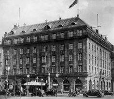 Hotel Adlon, Berlin 1930s - this is where the rich and elegant stay when they visit Berlin