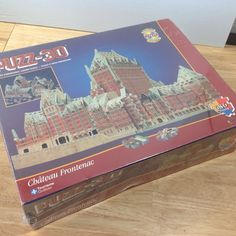 I always wanted this one...$30 plus $20 shipping ebay...NEW Puzz 3D Chateau Frontenac Quebec Puzzle 686 Pieces Wrebbit 1995 Sealed
