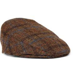 501e0ec1993 James Lock   Co. tweed driving cap. Driving Cap