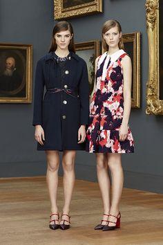 Erdem Pre-Fall 2015 Runway – Vogue.....shoes.