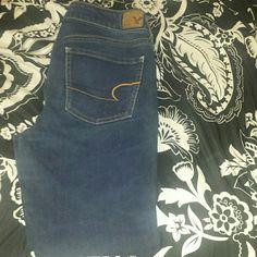 Blue Denim Jeans New Denim Jeans American Eagle Jeans Skinny