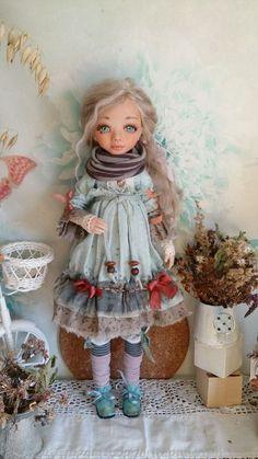 Коллекционные куклы ручной работы. Ярмарка Мастеров - ручная работа. Купить Ева. Handmade. Кукла, текстиль