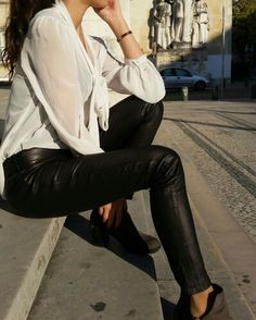 Douipo stretch-leather skynny pants ribeira #strechleather #strechsuede #Douipostreet