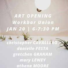 @Regrann from @workbar -  What are you doing next Wednesday? We're hosting an art show featuring local artists from Washington St in Somerville. Come on out for drinks snacks and rub elbows with your fellow Union Square creatives. W/ Athena Moore @chriscavallero @dfez44 @littleladylost @maryelewey #Regrann #unionsquarema #CambMA #Boston #somerville by unionsquarema January 15 2016 at 06:10AM