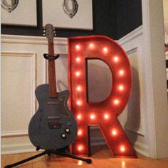 Everyone dreamed of seeing your name in lights? Well, now here's your chance. brbrBut don't stop there - spell your favorite word. How about BAR above your bar at home, EAT in your kitchen, or PLA...