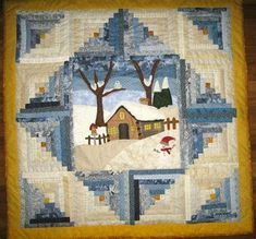 Best 25+ Log cabin quilts ideas