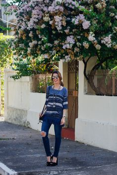 Look do dia: All jeans com estampa!?