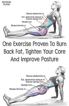 There are many body weight exercises you can do to get rid of the extra pounds. One Exercise Proven To Burn Back Fat, Tighten Your Core And Improve Posture