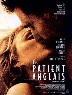 Affiche du film Le Patient anglais *le film où j'ai pleuré toutes les larmes de mon corps*