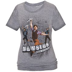 Disney on Broadway: Newsies The Musical Tee for Women | Newsies | Clothes | Disney Store  MUST HAVE IT!!!!